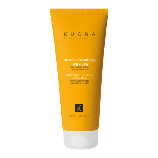 BODY SUNSCREEN SPF 50+UBV+UVA