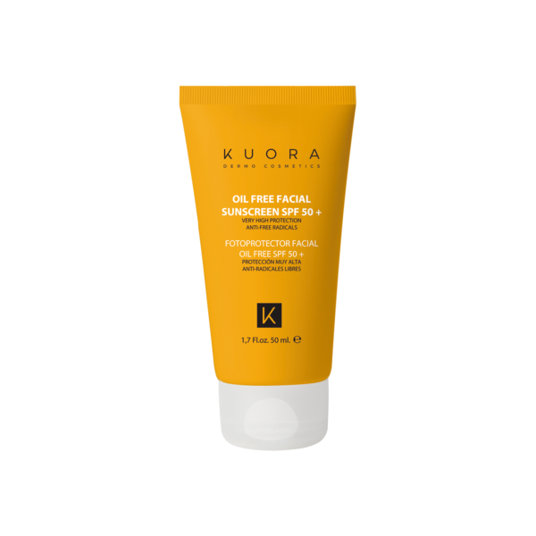 OIL FREE FACIAL SUNSCREEN SPF 50+ WITH VITAMIN E