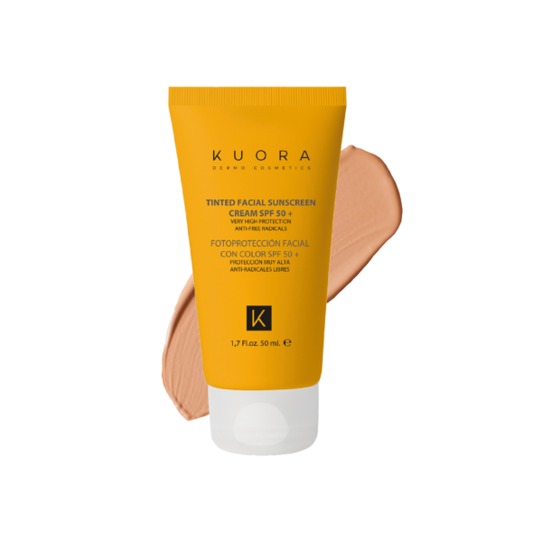 COLOURED FACIAL SUNSCREEN CREAM SPF 50+